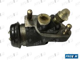 Lucas 2222100103 - Bombin de freno aluminio Ebro F108-110