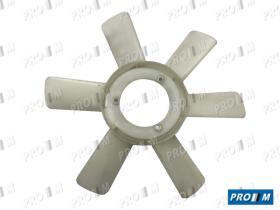 Caucho Metal ASP-180 - Aspa ventilador Seat 127