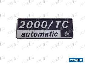 Seat Clásico 2000TC - Radiador de agua Seat 131-1600