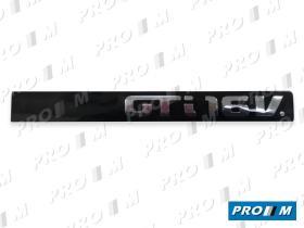"Seat Clásico 6K6853687Q - Anagrama portón ""GT"""
