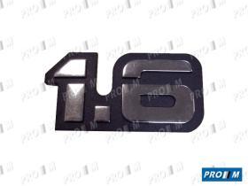 Ford ANA16 - Anagrama Ford 1.3 cromado