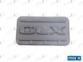 Seat Clásico 1L0853688E - Grupilla placa pastillas de freno Seat