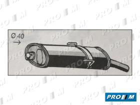 Fonos 28202 - PEUGEOT 206-1.9D;51KW 08/98- CAT