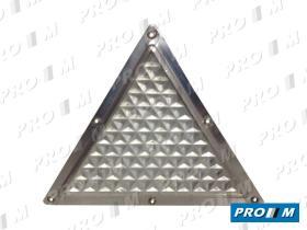 Accesorios TCB195 - Triángulo captafaros blanco remolque 195X195X195
