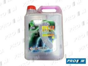 Prom// Líquidos 5255L - Anticongelante puro verde 1 Litro