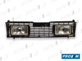 Hella 1FB005790811 - Rejilla Audi 80-90 86-> con faros largo alcance blancos