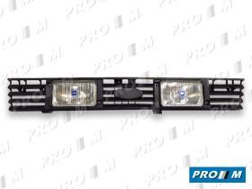 Hella 1FB003780832 - Rejilla delantera Ford Fiesta 76-83 con faros largo alcance