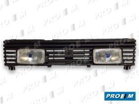 Hella 1FB005330811 - Rejilla Mazda 323 83-> con faros largo alcance blancos