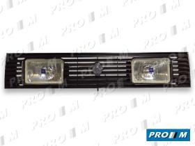 Hella 1FB004360831 - Rejilla delantera Ford Fiesta 76-83 con faros largo alcance