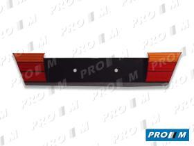 Hella 8XU006987001 - Portamatrículas trasero rojo-ámbar Bmw Serie 3 E36 91-
