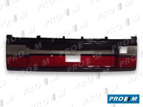 Hella 8XU005909001 - Portamatrículas VW Passat 89->