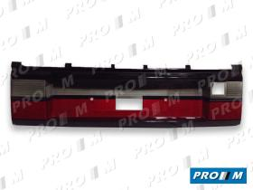 Hella 8XU005909001 - Portamatrículas Opel Omega rojo-ámbar