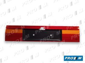 Hella 8XU005869001 - Portamatrículas Opel Omega rojo-ámbar