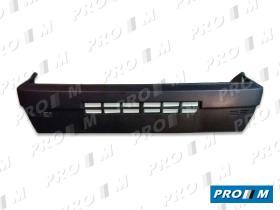 Fiat PDF45 - Paragolpes delantero negro Fiat Panda 03-