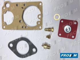 Juegos reparación carburador C1R1 - Juego reparacion carburador Solex 34 PIBSA 17
