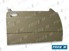 Pro//M Carrocería 01006S1274P - Panel de puerta delantero derecho Seat 127 4 puertas