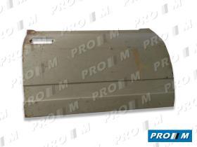 Pro//M Carrocería 01036 - Panel de puerta SImca 1200 1ªserie trasero izquierdo