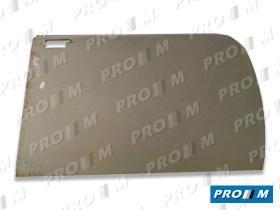 Pro//M Carrocería 01064 - Panel de puerta trasero izquierdo Seat 124 4 puertas