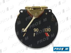 Magneti Marelli 444552 - Reloj de temperatura Seat 124 Sport 1600