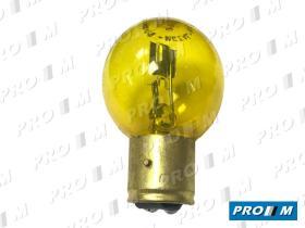 Accesorios L377AM - Lámpara amarilla faro Marchal 6V 35/35W