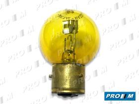 Accesorios L378AM - Lampara de faro amarilla Marchal 12v 35/35W