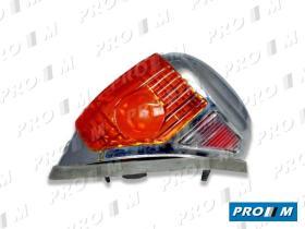 Prom Iluminación PA100 - Piloto de aleta derecho MB180 MB190- W120-W121 Pontón Sedán