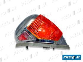 Prom Iluminación PA100I - Tulipa delantera izquierda bicolor Dkw F1000
