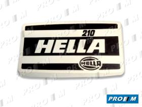 Hella TH210 - Tapa faro Hella 210 240X140X40mm