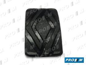 Caucho Metal 12120R - Goma pedal freno y embague Reanult 4-5-6-7 mod.