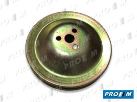 Caucho Metal PBA-57 - Polea bomba de agua Seat 600-850 grande 150mm