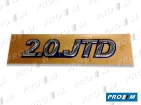 """Fiat 1486145693 - Anagrama Fiat Scudo """"""""SCUDO_EL"""""""" adhesivo 165mm"""
