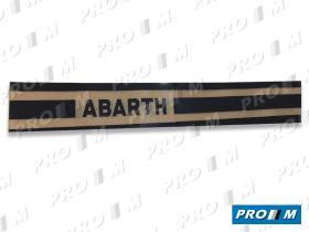 Accesorios PAN122 - Pegatinas laterales ABARTH 122cm ( juego 4 unid) 122cm
