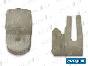 Caucho Metal GR127124 - Grapa cable de calefacción Seat 124 127
