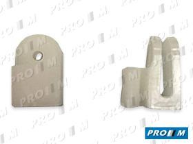 Caucho Metal GR127124 - Grapa botón capó Fiat PSA