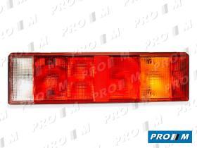 FAROS Y PILOTOS 131380000550 - Tulipa posición roja universal 67X46mm