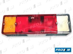 FAROS Y PILOTOS 1301170000 - Plafón interior blanco c/ interruptor 110x50mm