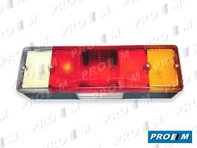 FAROS Y PILOTOS 1301170800 - Piloto Volvo tras. izq. c/matrícula conector 8 pines 430x125