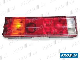 FAROS Y PILOTOS 1301611350 - Piloto universal Nissan tras.izq. c/matrícula conector rosca