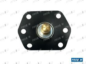 Juegos reparación carburador 10734 - Membrana carburador Solex 8mm de bástago