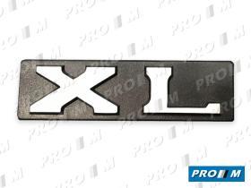 """Material Peugeot 490836 - Anagrama Peugeot """"""""GL"""""""" adhesivo"""
