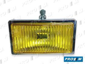 Accesorios FC851 - Faro antiniebla Lucas cromo amarillo 180x100 c/tornillo
