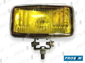 Accesorios 716085 - Faro antiniebla cromo amarillo 160x85 c/tornillo - Auto 7