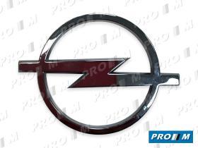 Opel 1324035 - Anagrama Opel 1324037 - 90164302