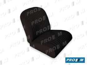 Accesorios JFA1500N - Juego de fundas asiento negro Seat 1500