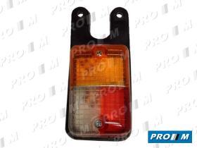 Prom Iluminación 6402I - Piloto lateral derecho colgante ámbar-rojo-blanco 85x55