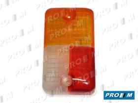 Prom Iluminación 6402TI - Tulipa lateral derecha ámbar-roja-blanca (piloto 6402D)