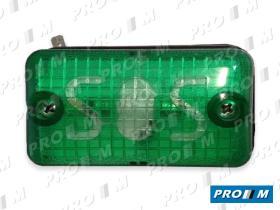 Prom Iluminación 6065ASV - Piloto universal ámbar superficie atornillar 85x55