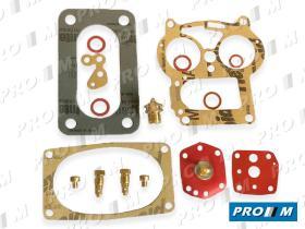 Juegos reparación carburador A8R - Juego de reparación carburador Alfa romeo Solex 32 PAIA 7-15