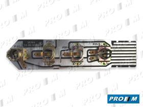Renault Clásico 7701025918 - T salida de gases motor 4 tubos 8-14-14-16mm