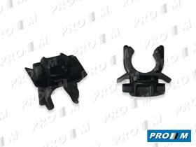 Caucho Metal 162723 - Grapa metálica clip pequeña Renault